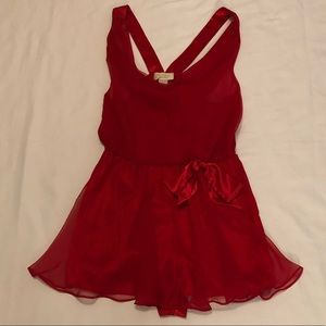 Vintage Victorias Secret Nightie Snap Teddy Large